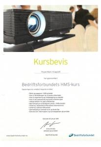 HMS Kursbevis